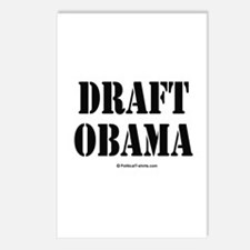 Draft Obama Postcards (Package of 8)