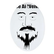 Ai WeiWei Oval Ornament