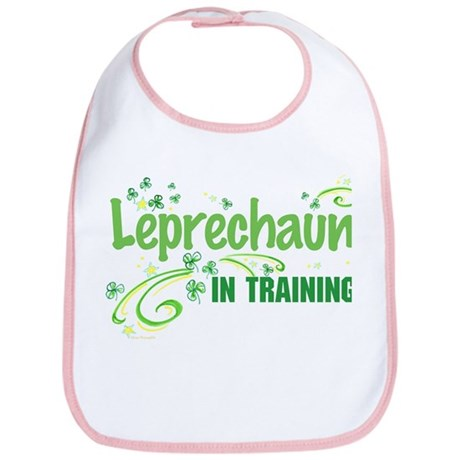 Leprechaun in training Bib