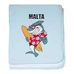 Malta baby blanket