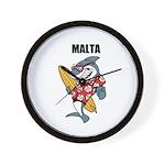 Malta Wall Clock