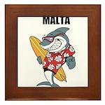 Malta Framed Tile