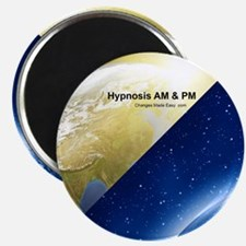 hypnosis am pm Magnet