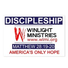 Winlight Ministries Postcards (Package of 8)