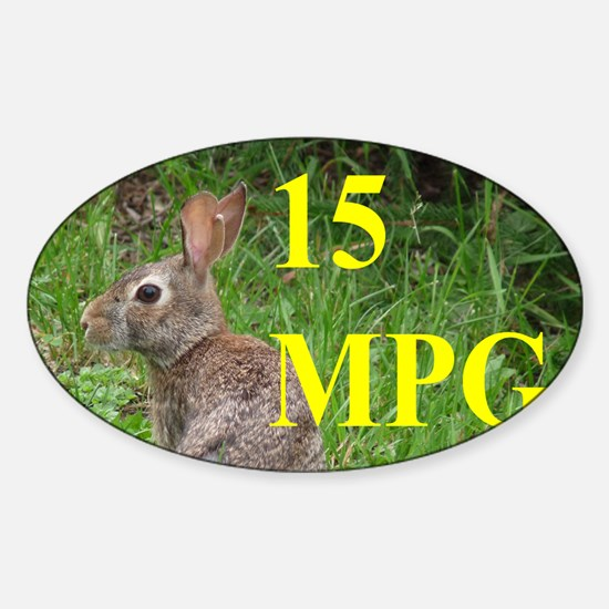 MPG3x5A Sticker (Oval)