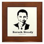 Barack Steady Framed Tile