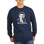 Barack Steady Long Sleeve Dark T-Shirt