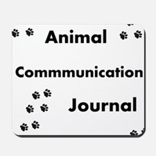 Animal Communication Journal Black Mousepad
