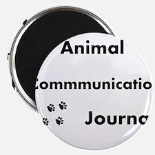 Animal Communication Journal Black Magnet