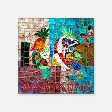 "murano IIIb Square Sticker 3"" x 3"""