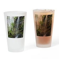YellowSpringsWaterfall-Print4 Drinking Glass