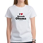 I Love Barack Obama Women's T-Shirt
