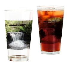 YellowSpringsWaterfall-Print Drinking Glass