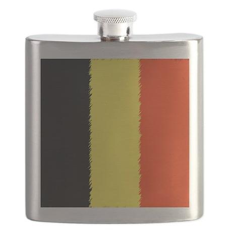 Belgium polo Flask