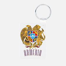 GA_ArmenianCoatofArms10x Keychains