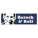 Hot Mama for Obama Bumper Sticker