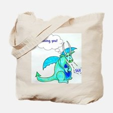Missing you cropped Tote Bag