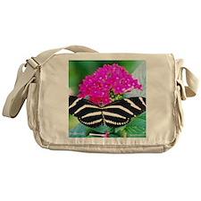 Zebra newLg Messenger Bag