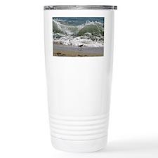 KDH_Bird_Wave_16x20_withCopyrig Travel Mug