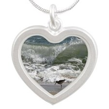 KDH_Bird_Wave_16x20_withCopy Silver Heart Necklace