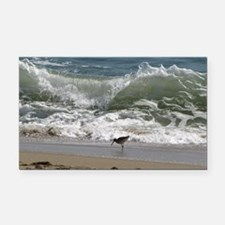 KDH_Bird_Wave_16x20_withCopyr Rectangle Car Magnet