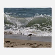 KDH_Bird_Wave_16x20_withCopyright Throw Blanket
