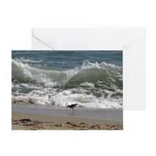 KDH_Bird_Wave_16x20_withCopyright Greeting Card