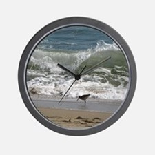 KDH_Bird_Wave_16x20_withCopyright Wall Clock