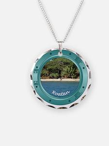 RoatanBeach-Porthole Necklace