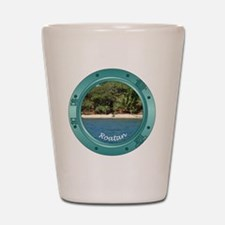 RoatanBeach-Porthole Shot Glass