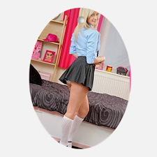 Schoolgirl X-Tra Credit Oval Ornament