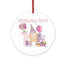 birthday baby4 Round Ornament