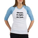 Obama. O-eight. Oh yeah. Jr. Raglan