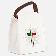 Italian Pride Canvas Lunch Bag