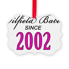 babesince2002 Ornament