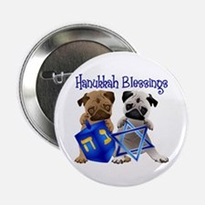 "Hanukkah Blessings 2.25"" Button"