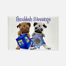 Hanukkah Blessings Rectangle Magnet
