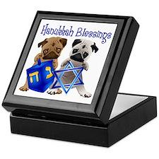 Hanukkah Blessings Keepsake Box