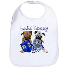 Hanukkah Blessings Bib