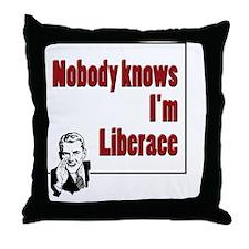 CafePress - Nobody Knows Throw Pillow
