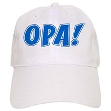Opa Greek Shirt Baseball Cap