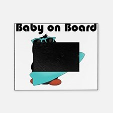 baby on board blue Picture Frame