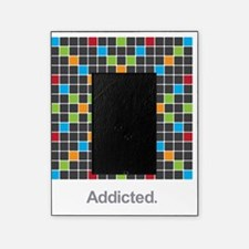 Word Game Addiction Picture Frame