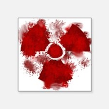 "HaS LogoBA Square Sticker 3"" x 3"""