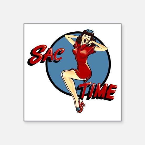 "B-52G 58-0164 SAC Time Square Sticker 3"" x 3"""