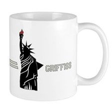 Griffiss - Statue of Liberty - White-Re Mug
