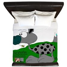 Mudweed The Spotted Muley King Duvet