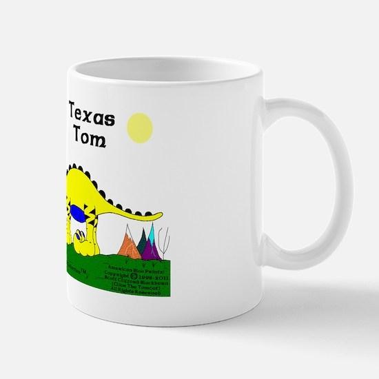 Texas Tom The Iguanadoon In Banana And  Mug