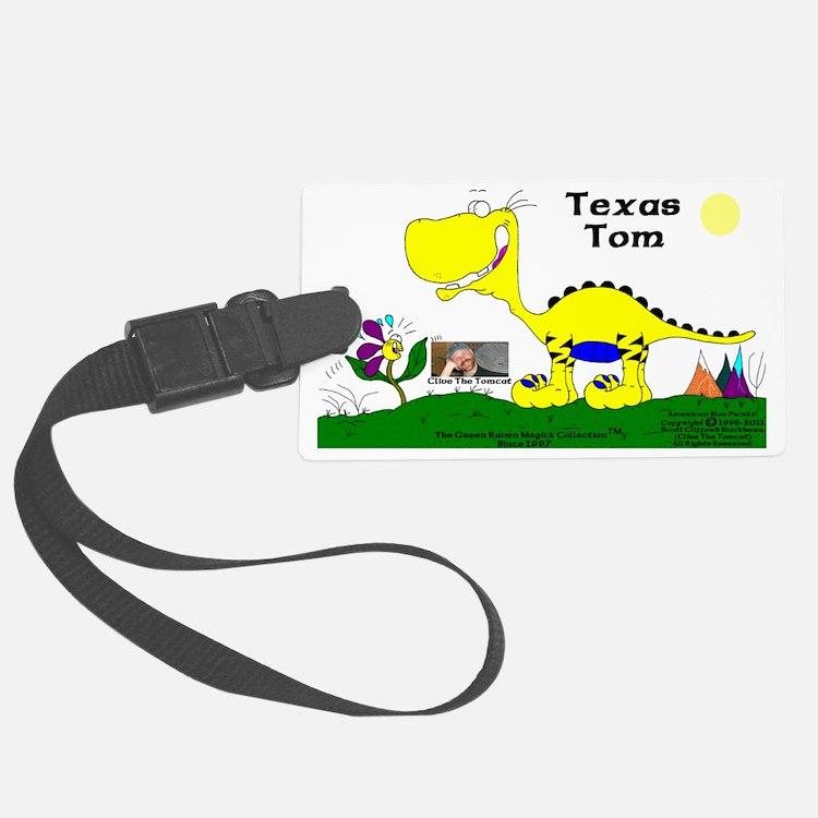 Texas Tom The Iguanadoon In Bana Luggage Tag