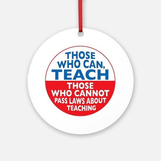 who can teach Circle Round Ornament